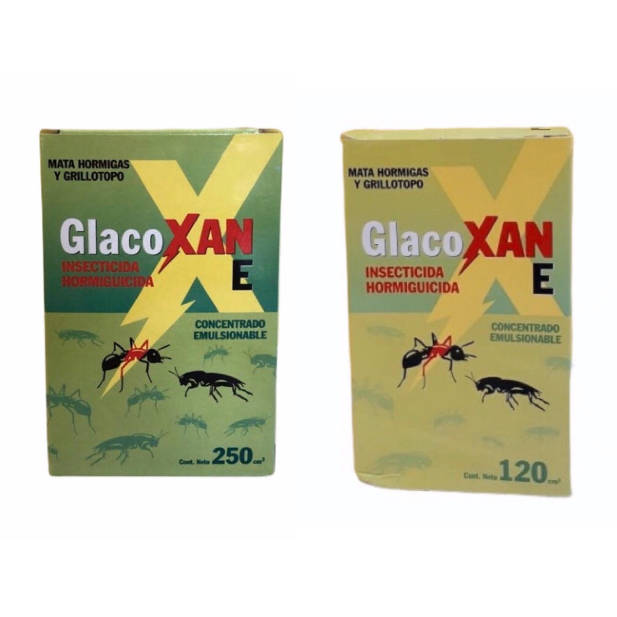 Glacoxan insecticida hormiguicida
