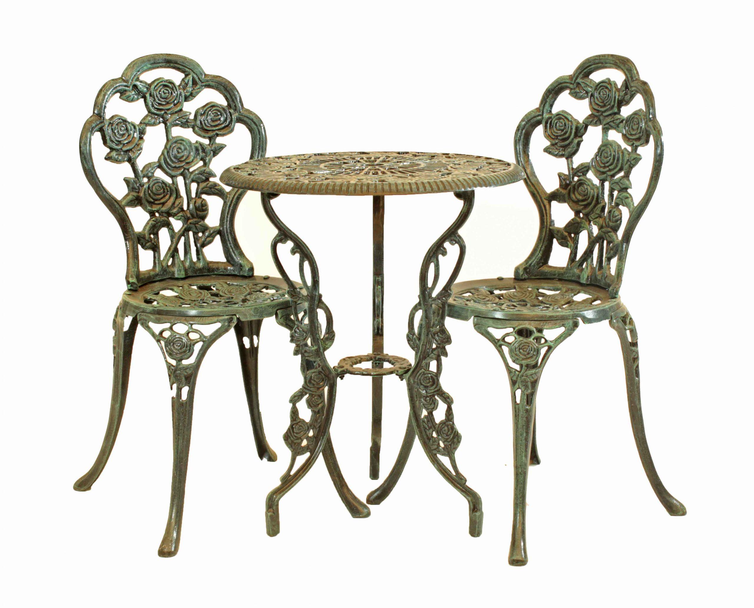 Juego Rosas (2 sillas, 1 mesa)