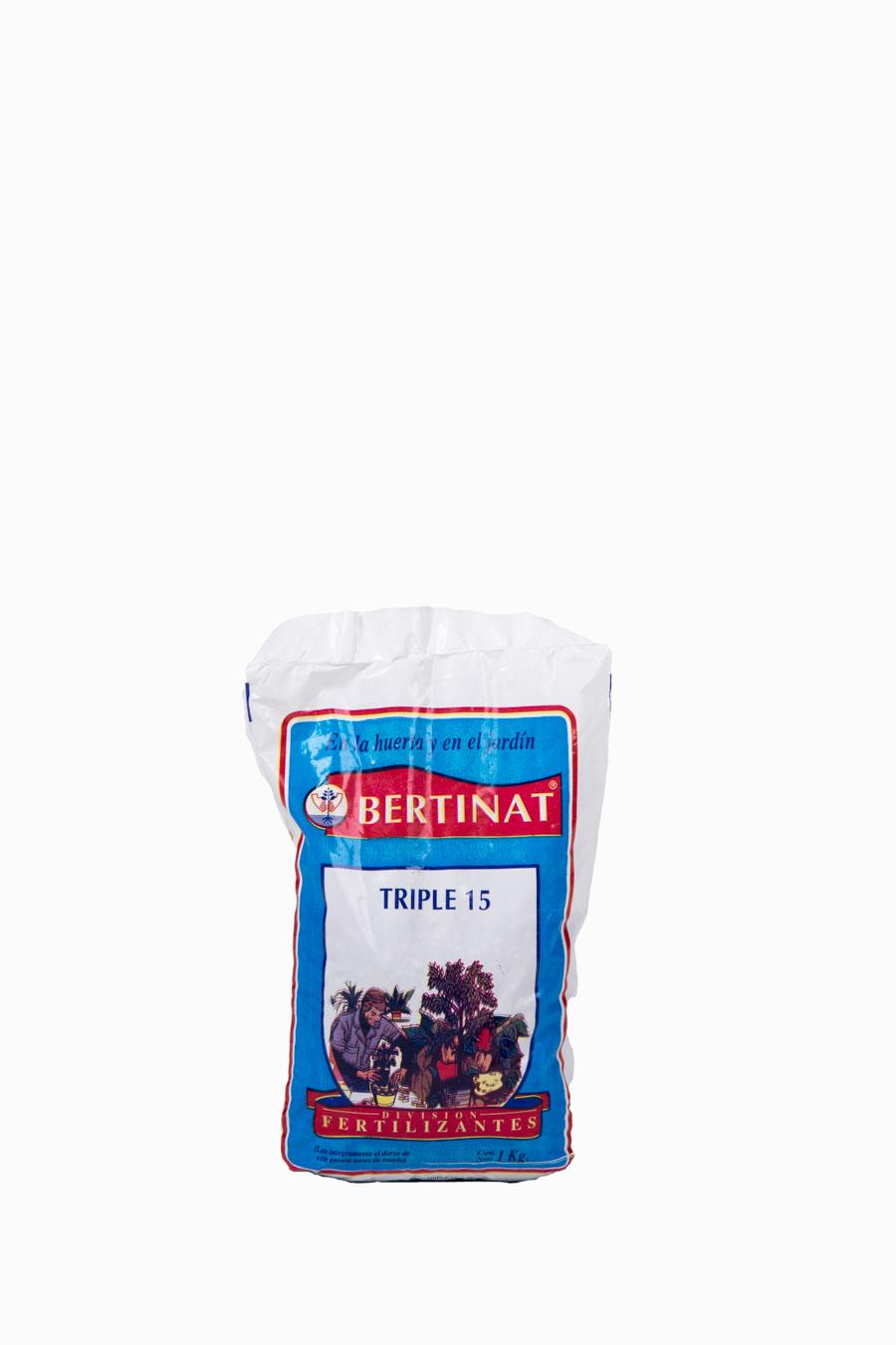 Fertilizante triple 15