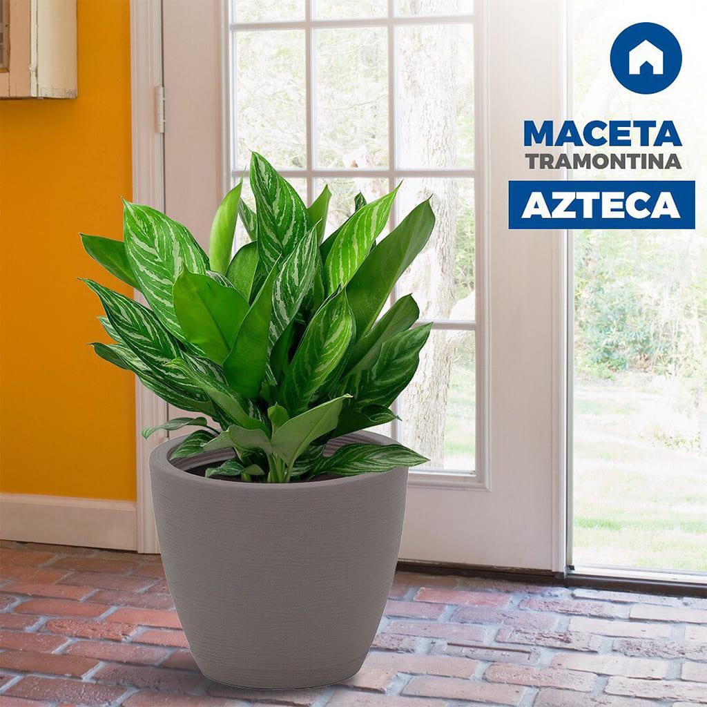 Plantas Faitful Macetas Rotomoldeado Azteca 24 - Plantas Faitful