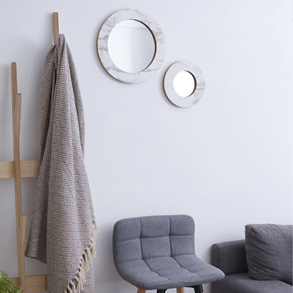 Plantas Faitful Decoful Muebles Interior Espejo Redondo Marmol - Plantas Faitful